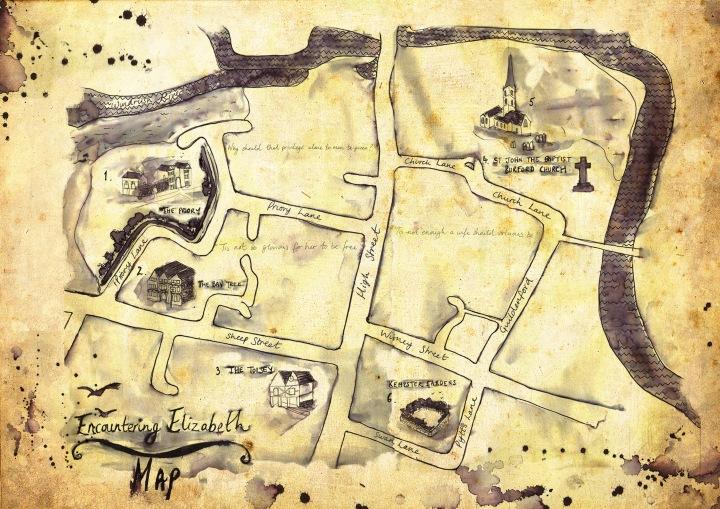 Map design by Talulah Mason