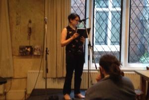 Susan performing Oblique