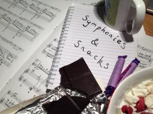 Symphonies & Snacks title